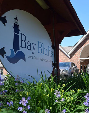 Support Bay Bluffs Medical Care Facility Harbor Springs Michigan